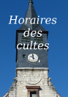 Horaires cultes